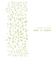 green leaves explosion textile texture vertical vector image vector image
