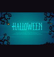 halloween background scary collection style vector image vector image