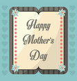 happy mothers day greeting celebration image vector image vector image