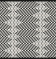 monochrome abstract zigzag lines seamless pattern vector image vector image