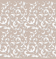 pattern of decorative ornament vector image vector image