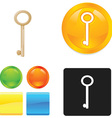 Security icon sets vector image vector image