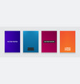 stok minimal covers design vector image vector image