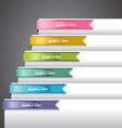 Bookmark labels ribbon vector | Price: 1 Credit (USD $1)