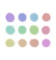 icons grunge splash splatter shape pastel vector image vector image