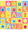 Multicolored holiday background Seamless pattern vector image vector image