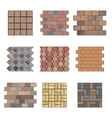 Paving stone vector image
