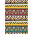 tribal striped seamless pattern Geometric vector image vector image