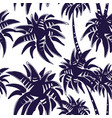 palm tree pattern vector image