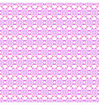 abstract floral seamless pattern geometric vector image
