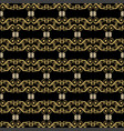 abstract seamless pattern - gold ornament vector image