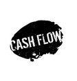 cash flow rubber stamp vector image vector image