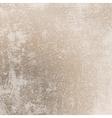 Grunge Scratched Beige Texture vector image vector image