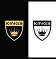 kings-logo vector image vector image