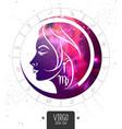 magic card with astrology virgo zodiac sign