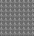 monochrome geometric seamless pattern vector image