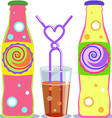 pop soda vector image vector image