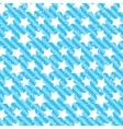 Seamless grunge star texture Blue background vector image