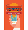 Sightseeing Tours vector image vector image
