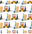 warehouse seamless pattern background with vector image