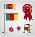cameroon flag design vector image