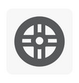 car part icon vector image