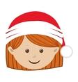 christmas icon image vector image