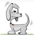 comic dog vector image vector image
