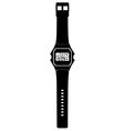 Digital watch vector image vector image