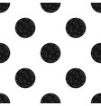 moon icon in black style isolated on white vector image vector image