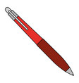 pen office or school stationery accessory vector image vector image