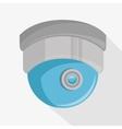 cctv camera dome icon vector image