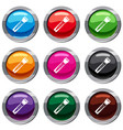 clipper set 9 collection vector image vector image