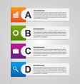 Design paper banners for business Options vector image vector image