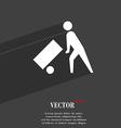 Loader icon symbol Flat modern web design with vector image vector image