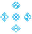 seamless pattern winter vector image vector image