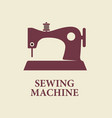 sewing machine icon sign vector image vector image
