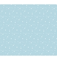 Snowflakes seamless pattern Snow falls background vector image vector image