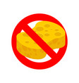 stop sponge it is forbidden to rub with sponge vector image vector image