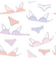 Underwear seamless pattern vector image vector image
