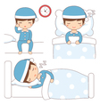 bedtime vector image vector image