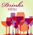 Beverages vector image vector image