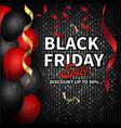 Black friday sale banner for social promotion