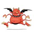 Funny demon vector image vector image