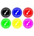 gaza strip rubber stamp vector image