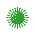 mers-cov mers corona symbol respiratory syndrome vector image