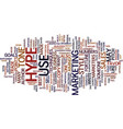 anatomy hype text background word cloud vector image vector image