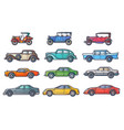 cars history vector image