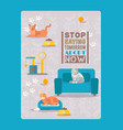 cats result stop saying tommorow adopt now vector image vector image