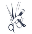 design for a barbershop vector image vector image